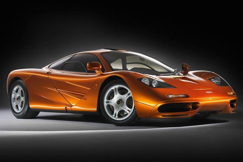 McLaren F1 bermesin BMW S70