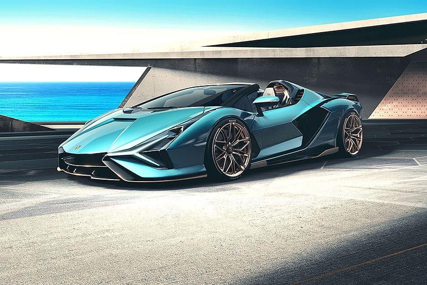 Lamborghini has its first hybrid, the super Sián