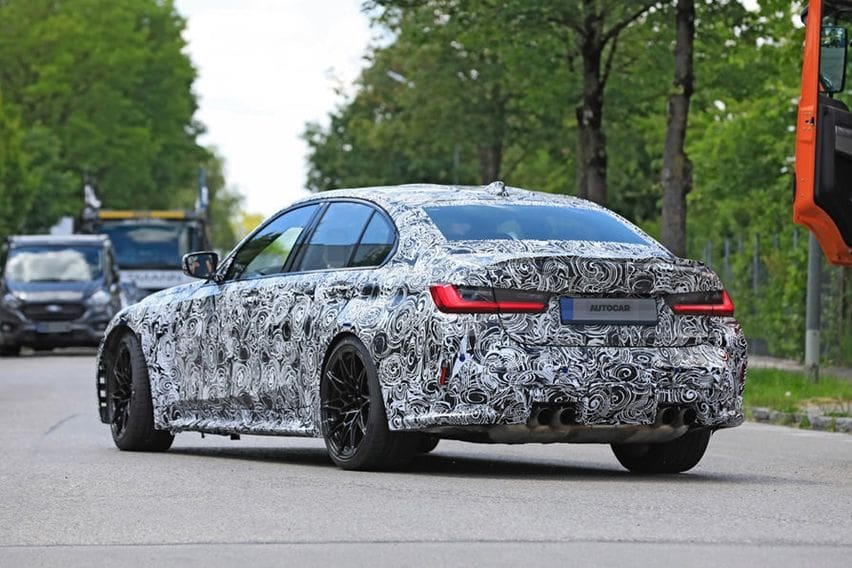 Spy shot BMW M3