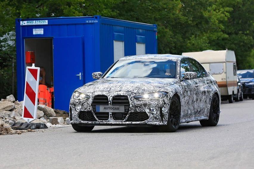 Misteri Wajah BMW M3 Terkuak, Adopsi Grille Besar Seperti M4