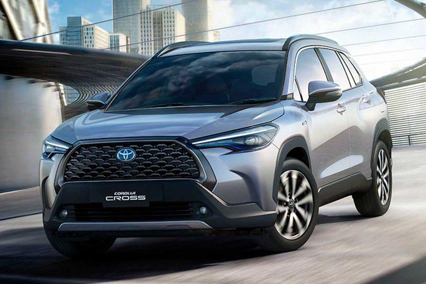 2021 Toyota Corolla Cross revealed