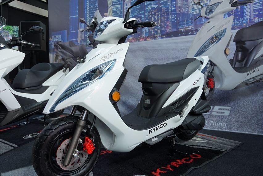 Kymco GP125 resmi meluncur