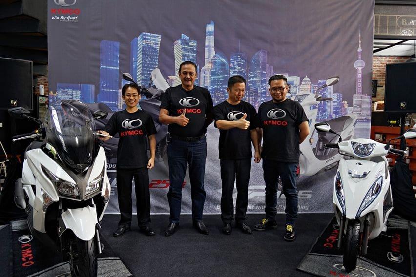 Launching Kymco GP125 & X-Town 250i