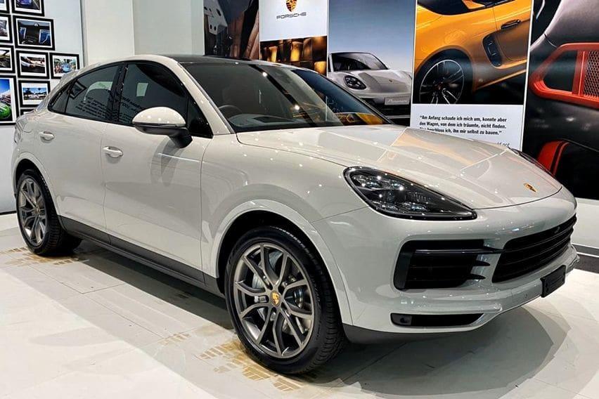 Porsche Cayenne S Coupe Meluncur, Begini Kelengkapannya