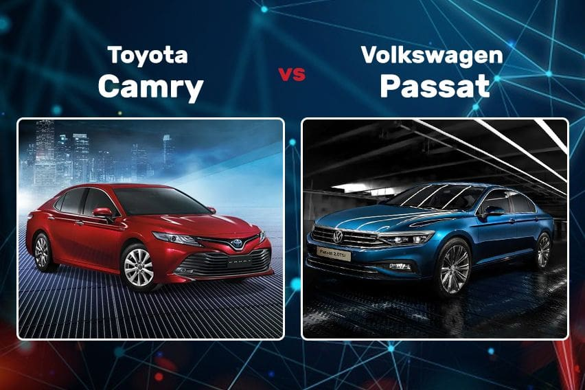 Toyota Camry vs Volkswagen Passat: How the German sedan stand against the Japanese rival?