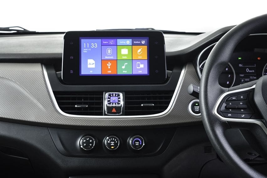 Wuling Cortez CT dashboard