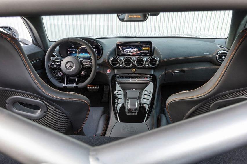 AMG GT Black Series cockpit