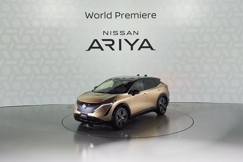 world premiere Nissan Ariya