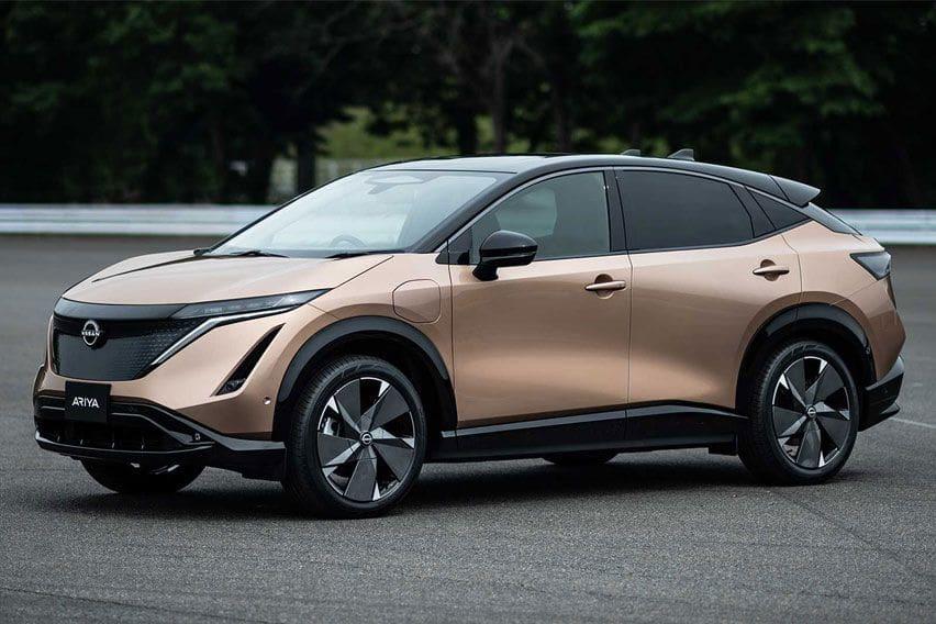 2021 Nissan Ariya electric SUV revealed in production form