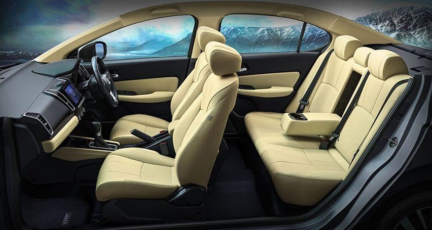 2020 Honda City cabin
