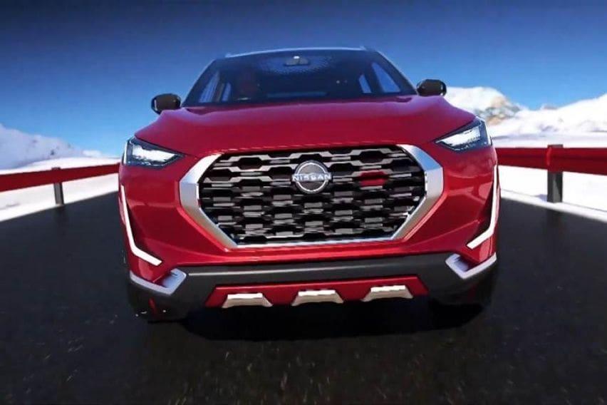 Nissan Magnite design