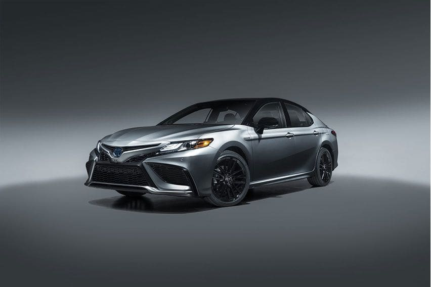 2021 Toyota Camry unveiled for the US market
