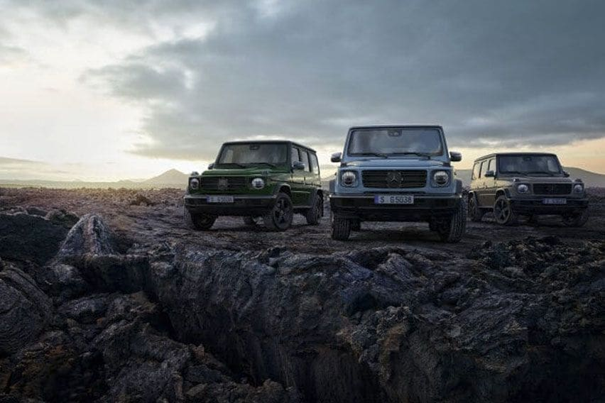 Mercedes-Benz G-Class gets new equipment and more