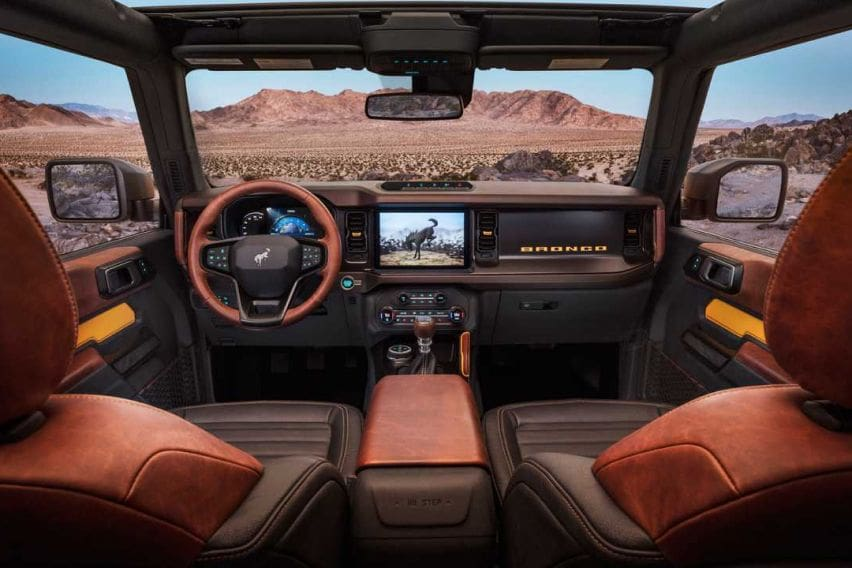 Ford Bronco cabin