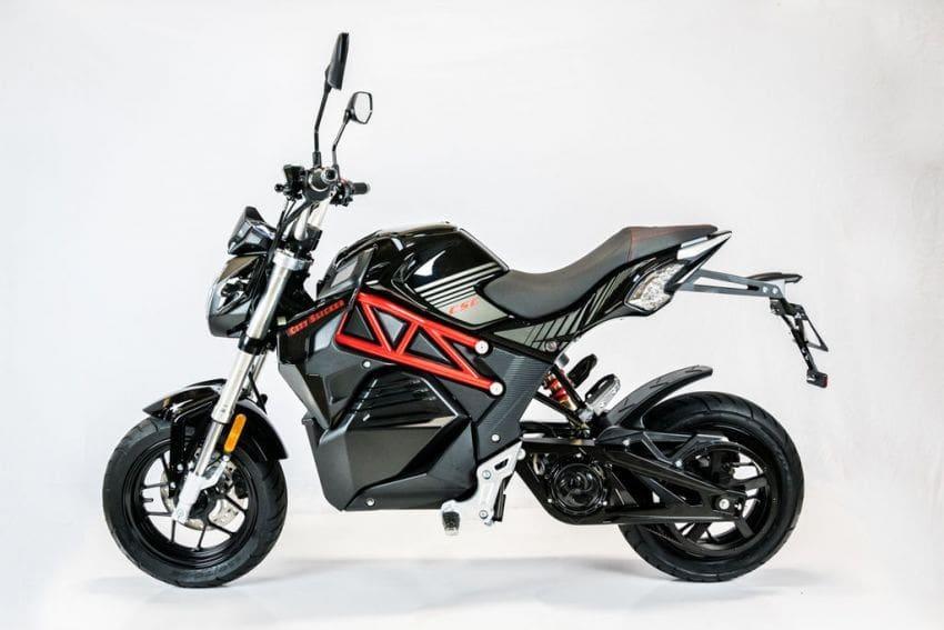 CSC City Slicker, Sepeda Motor Listrik Asal Amerika Serikat Mirip Benelli TNT135