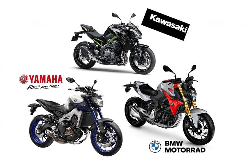 Adu Performa dan Fitur BMW F 900 R VS MT-09 dan Z900, Siapa Paling Unggul?