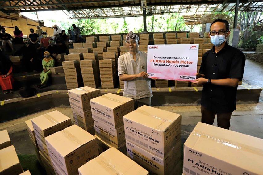 Peduli Budaya dan Seni, AHM Salurkan Bantuan ke Saung Angklung Udjo Bandung