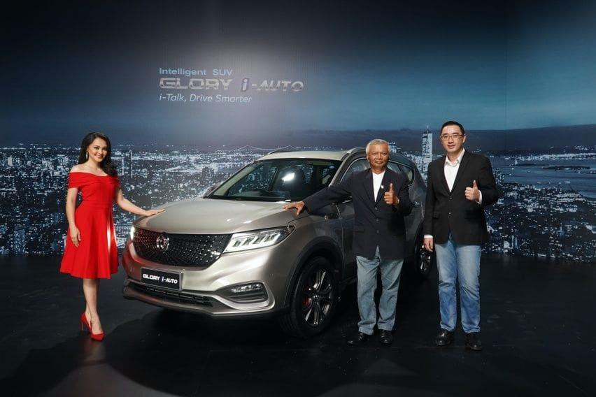 Perbedaan DFSK Glory i-Auto Versi Produksi dengan Model Pengenalan