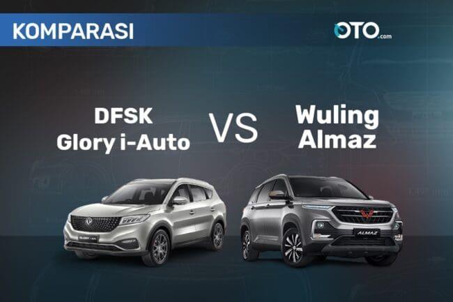 Adu Canggih DFSK Glory i-Auto vs Wuling Almaz