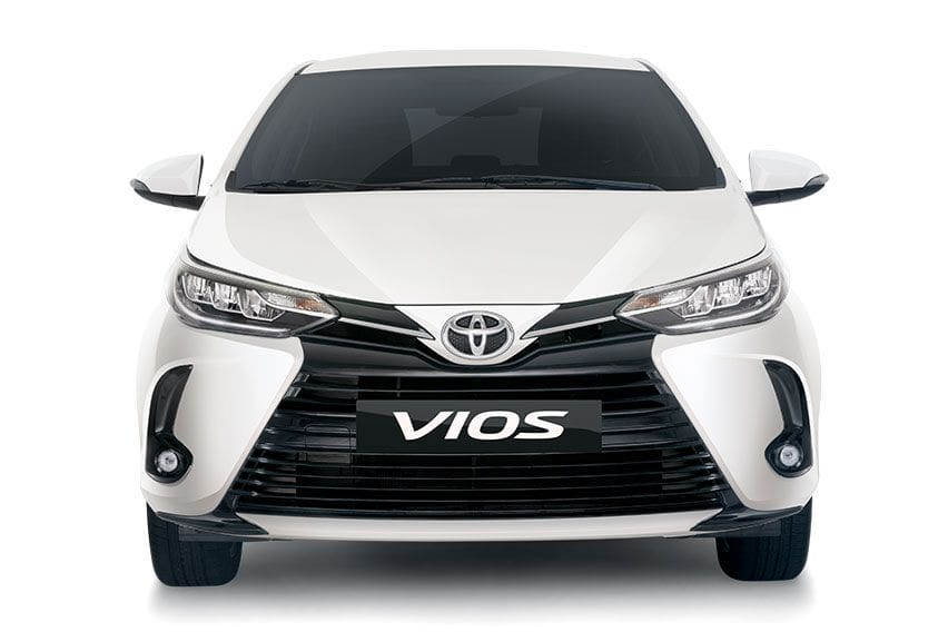 New Toyota Vios front