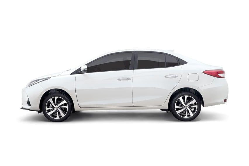 New Toyota Vios side