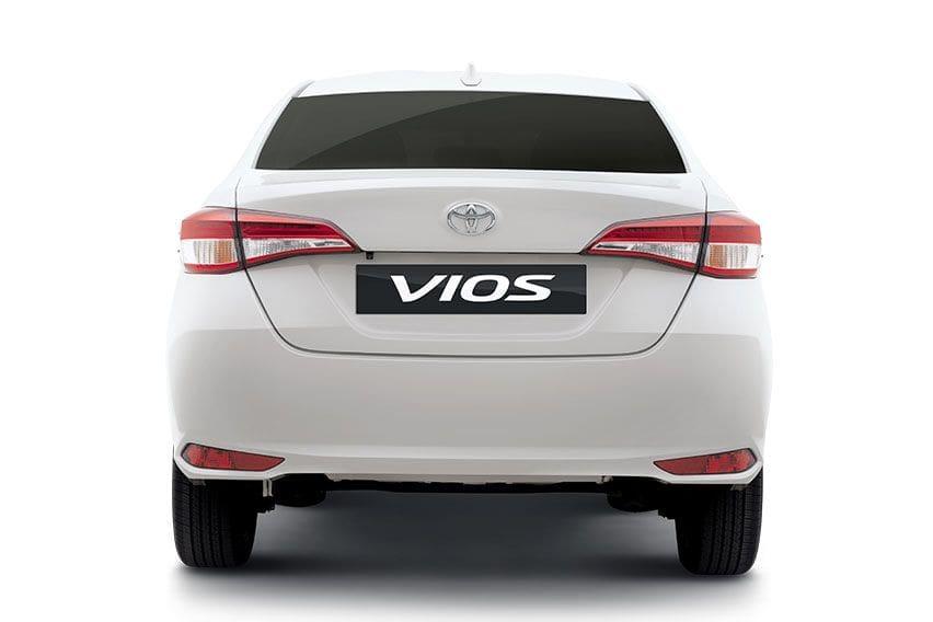 New Toyota Vios rear