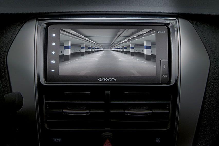 Toyota Vios screen