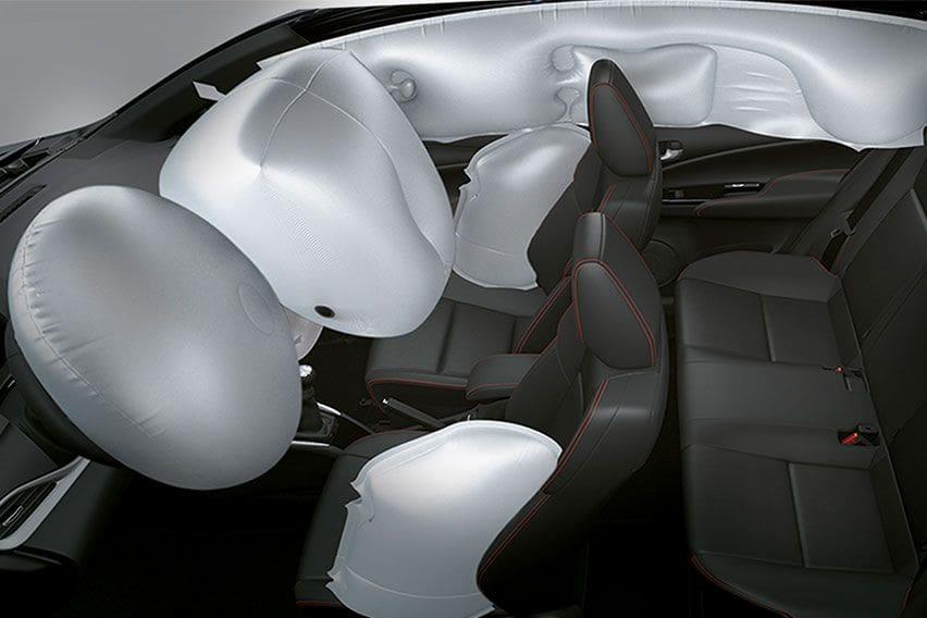 Toyota Vios airbags