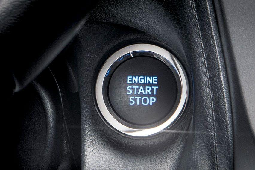 Toyota Vios engine start stop
