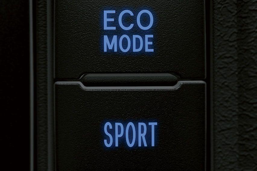 Toyota Vios drive modes