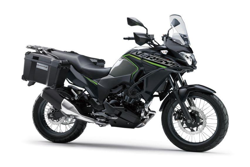 Kawasaki Versys Grey