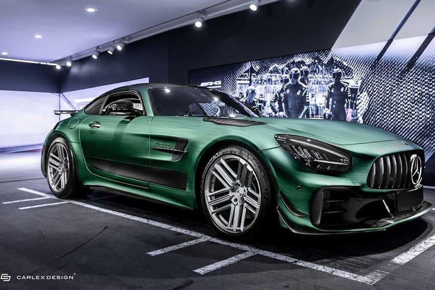 Ubahan Mentereng Mercedes-AMG GT R Pro Karya Carlex Design