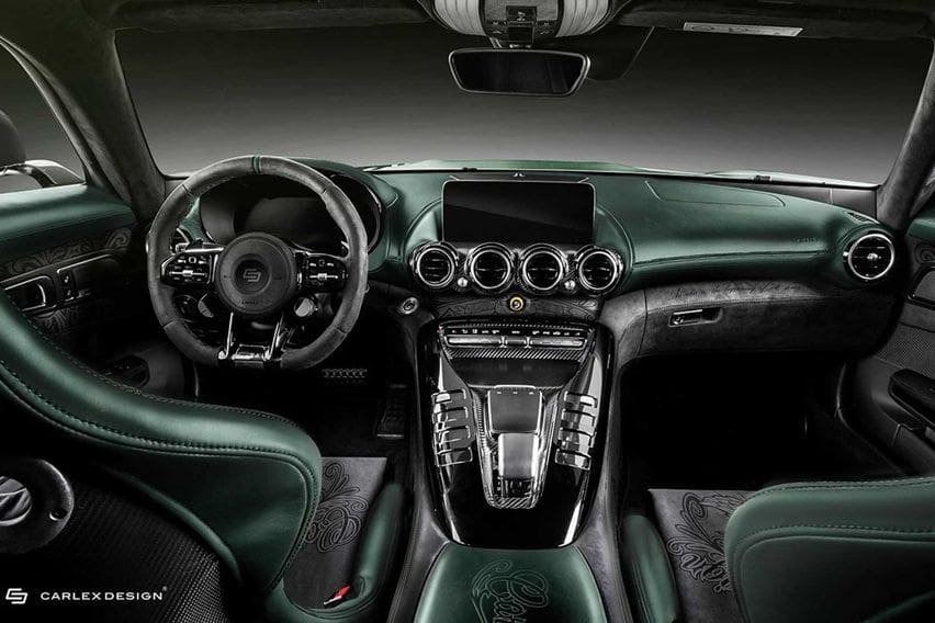 Interior Mercedes-AMG Carlex Design