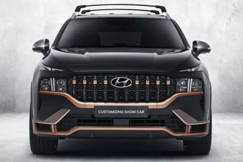 Hyundai Santa Fe Pakai Baju N Performance Parts Bikin Pangling
