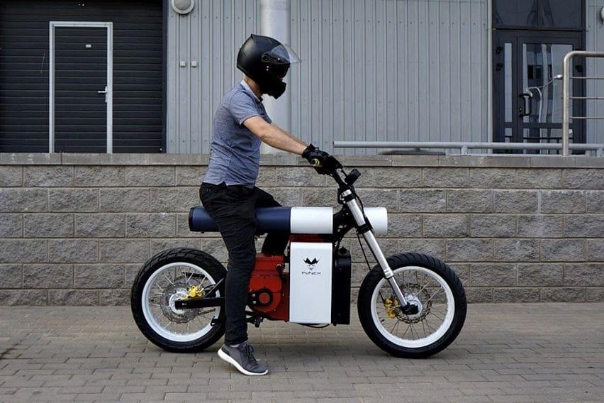 Motor Listrik Ini Punya Desain Unik Mirip Senter