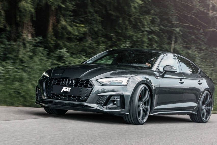 2021 Audi A5 gets an aggressive ABT makeover