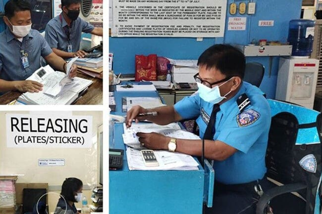 LTO announces new extension of registration validity