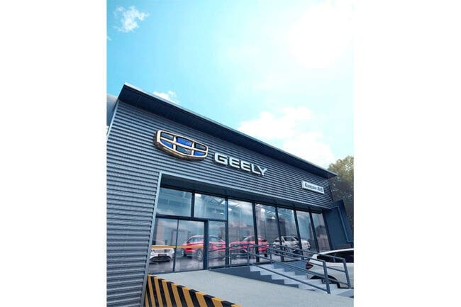 Geely opens new dealership on Quezon Avenue tomorrow