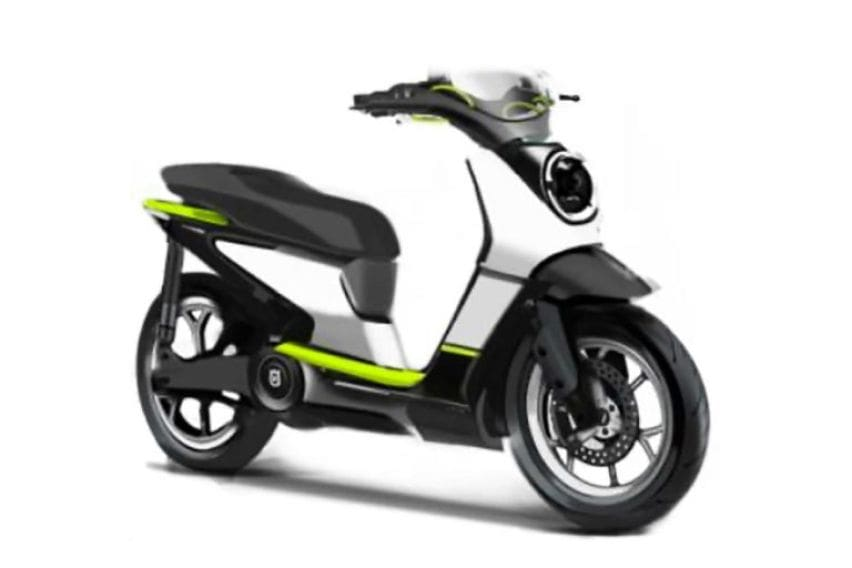 Husquarvana electric scooter front