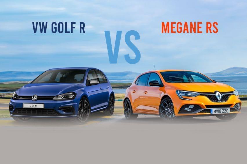 Volkswagen Golf 2.0L TSI R vs Renault Megane R.S. - The better one?