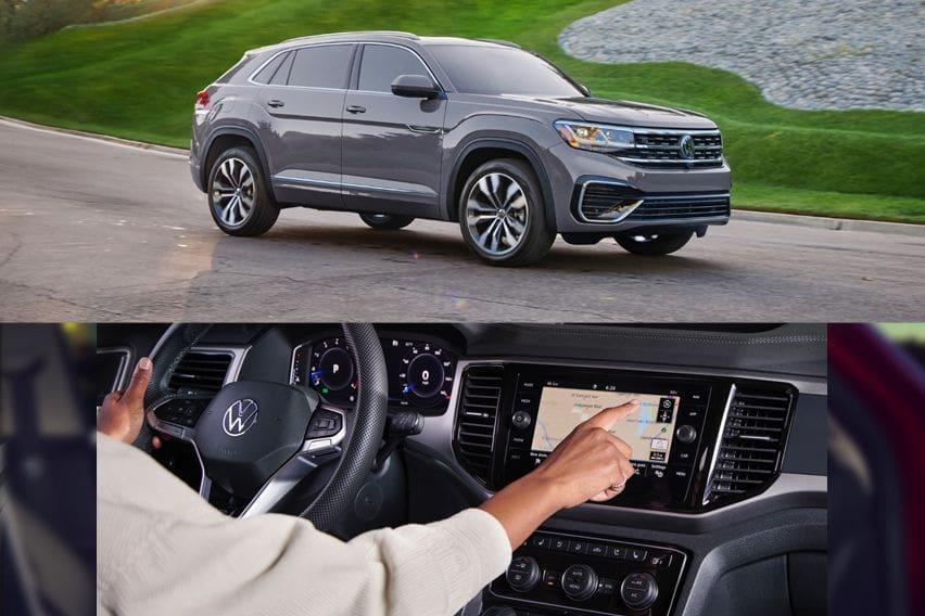 Volkswagen Atlas Cross Sport front and cabin