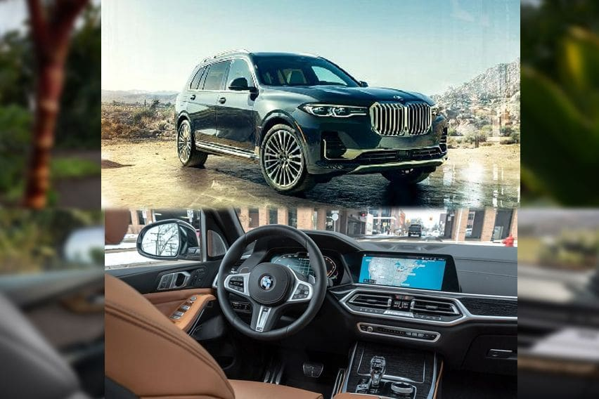 BMW X7 front and cabin
