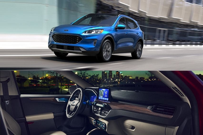 Ford Escape front and cabin