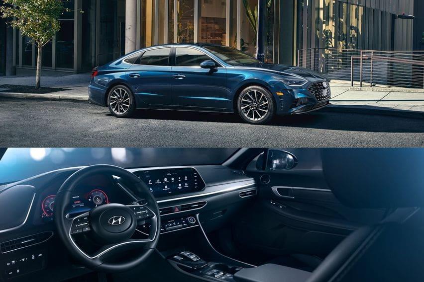 Hyundai Sonata front and cabin