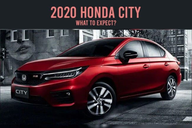 2020 Honda City: What to expect?