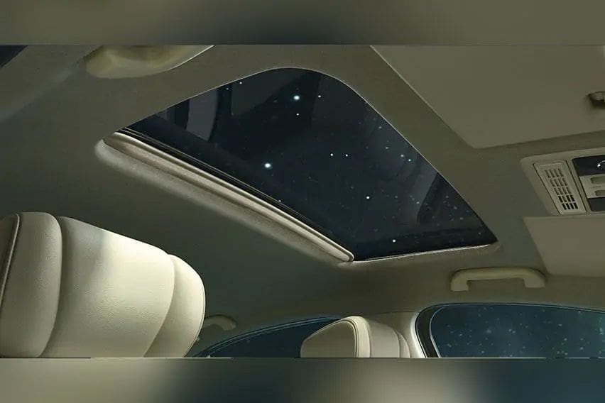 Electric sunroof