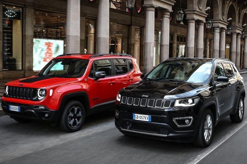 Jeep Renegade dan Compass Plug-in Hybrid Resmi Dipasarkan