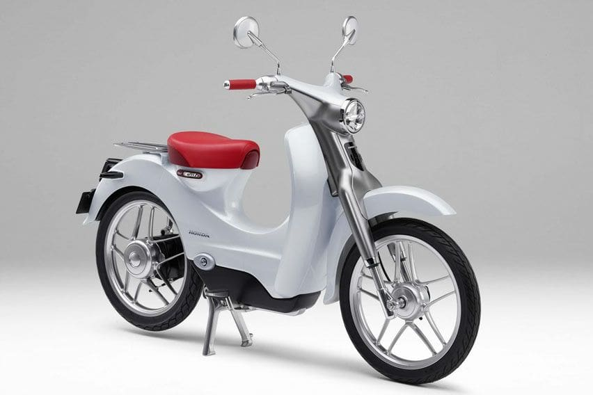 Get ready for the electric version of iconic Honda Super Cub