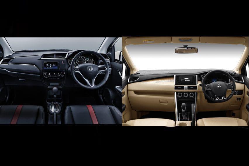 Mitsubishi Xpander or Honda BR-V - interior