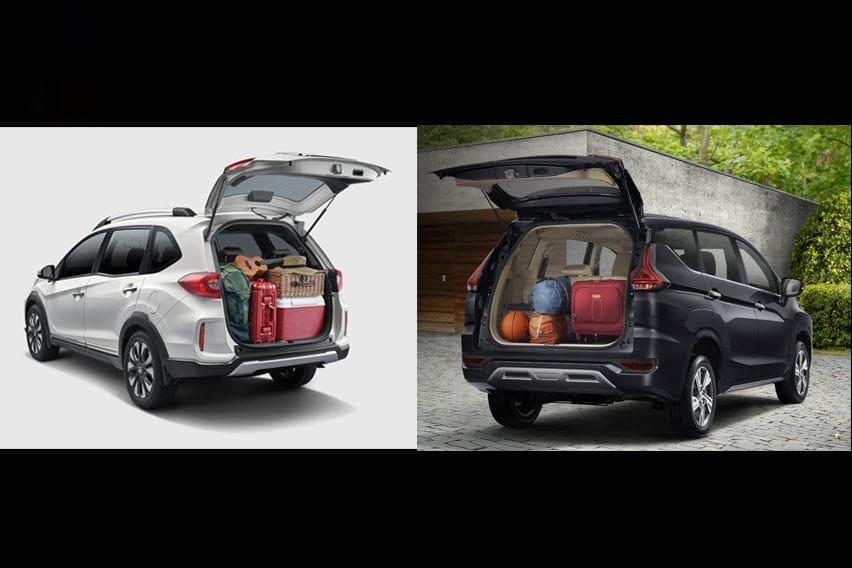 Mitsubishi Xpander or Honda BR-V - boot space